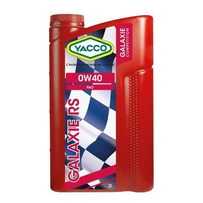 Yacco Huile Moteur Galaxie RS SAE 0W40