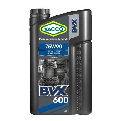 Huile de Boîte Yacco BVX 600 75W90