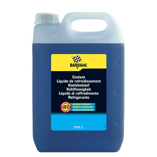 Liquide de refroidissement LRC type C -35°C Bardahl