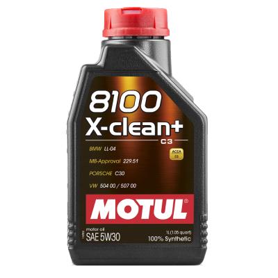 Huile moteur Motul 8100 X-CLEAN + 5W30