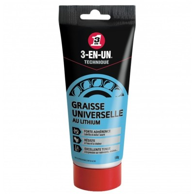 3-EN-un Technique Graisse Universelle au Lithium