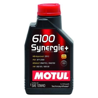 Huile Moteur Motul 6100 Synergie+ 10W40